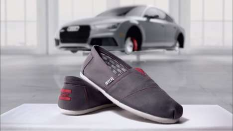 Charity Shoe Campaigns - Audi Paired with Toms for its Summer Sale Event to Donate Shoes to Children