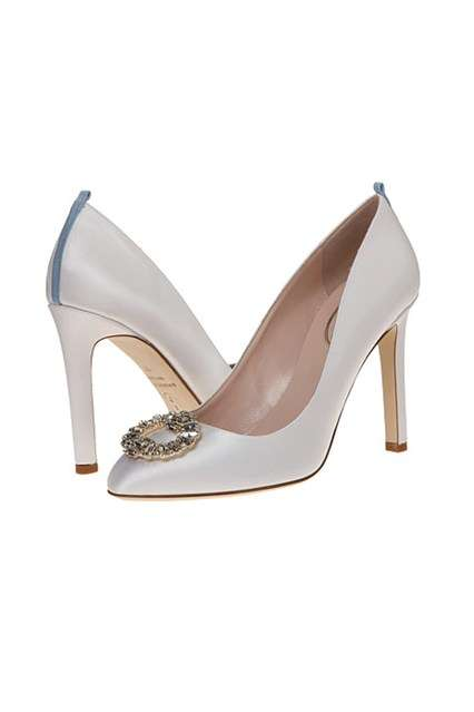 Celebrity Bridal Shoes - The Sarah Jessica Parker Collection Now Includes Wedding Footwear