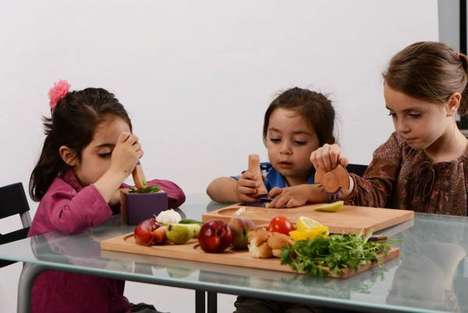 15 Kids Nutrition Initiatives - From Creative Cooking Games to Vegetarian Public Schools