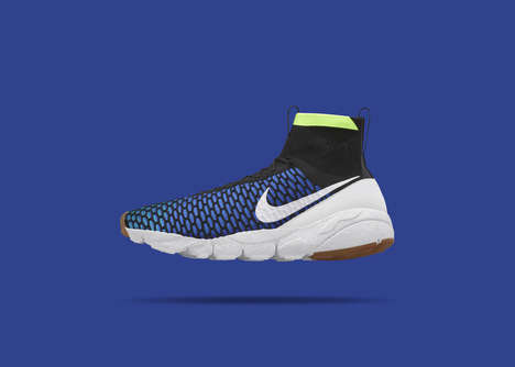 Snug Soccer Boots - The NikeLab Air Footscape Magista Boasts a Paradigm-Shifting Dynamic Fit Collar