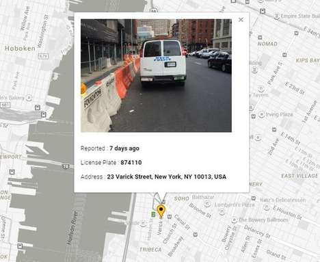 Driver-Shaming Apps - The 'Towit' Photo-Shaming App Lets You Call Out Drivers Who Park Poorly