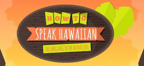 Language Learning Charts - This Infographic is Supposed to Help You Learn How to Speak Hawaiian