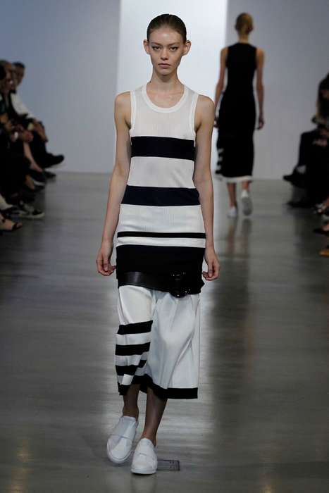 Tiered Summertime Collections - The Latest Calvin Klein Resort Collection Features Layered Looks
