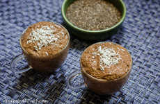Chocolate Chia Puddings - Paleo Magazine's Healthy Snack is Vegan and Gluten-Free