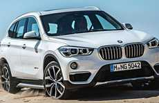 Reworked Crossover Vehicles - The BMW X1 Features Front Wheel Drive and a More Efficient Engine