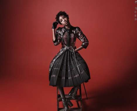 Victorian-Esque Fashion Ads