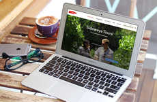 Custom Trip-Booking Sites - South Africa's Sideways Tours Offers a Bespoke Tour-Booking Platform