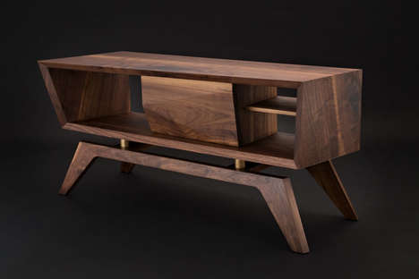 Sculpted Timber Furnishings - The Jory Brigham Arkwright Collection is Handmade and Tailored