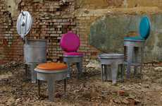 Garbage Can Furniture