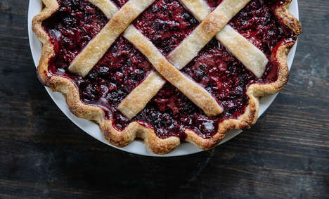 Rustic Berry Pies - Pastry Affair's Berry Balsamic Pie is Inspired by Traditional Dessert Recipes
