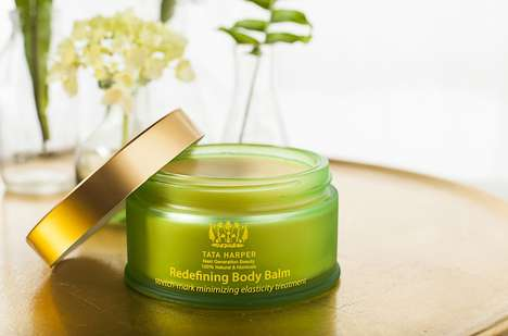 Non-Toxic Luxury Skin Care - The Tata Harper Body Balm is Supposed to Reduce Stretch Marks Naturally