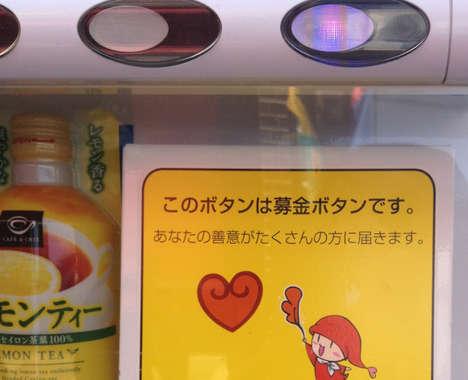 Donation Vending Machines