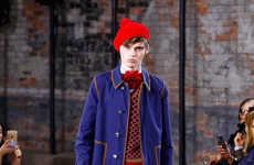 Eclectic Prep Fashion - The Latest Gucci Menswear Range Embodies Vintage Elegance