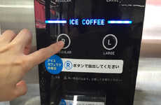 Instant Iced Coffee Machines - 7-Eleven's Iced Coffee Machine Uses Frozen Milk and Sugar Beads