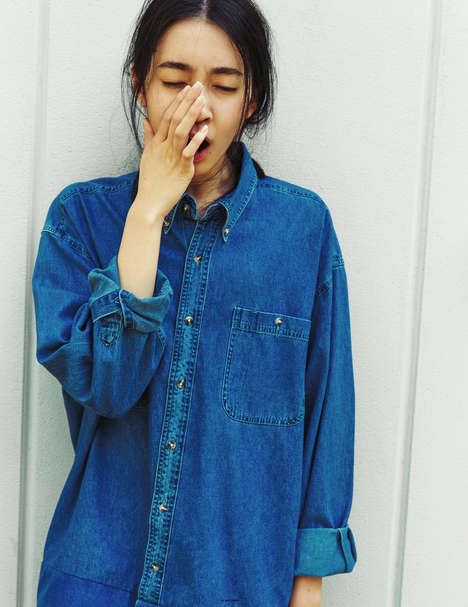 Contemplative Normcore Editorials - The Ones 2 Watch Ai Suzuki Feature is Understated
