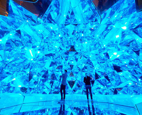 Kaleidoscopic Origami Domes