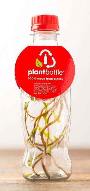 Plant-Based Soda Bottles - Coca-Cola's PlantBottle is Made from Sugar Cane Rather Than Petroleum
