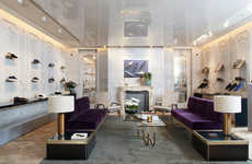 Refined Flagship Boutiques - Louis Leeman's New York Retail Space Embodies and Opulent Air