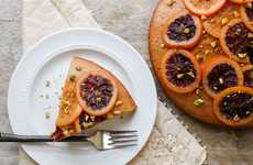 Mediterranean Citrus Cakes - The Little Epicurian's Blood Orange Olive Oil Cake is Zesty