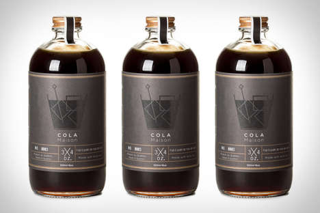 Natural Cocktail Syrups - 'Cola Maison' is a Flavored Syrup Made for Pairing with Whisky