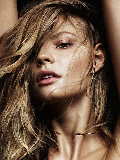 Barren Adornment Editorials - The Models.com Magdalena Frackowiak Photoshoot is of the Essence