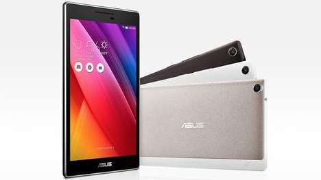 Surround Sound Tablets - The ASUS ZenPad Tablet Features Surround Sound Technology