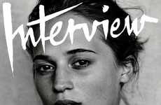 Hollywood Entrant Editorials - The Interview Magazine Youth Wave Photoshoot Focused on Young Talent