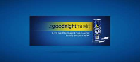 Crowdsourced Sleep Playlists - The Good Night Drink Asked People to Share Soothing Music for Sleep