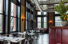 Vintage Ballroom Bistros - Wright & Company is an Exciting Detroit Restaurant with Stunning Decor