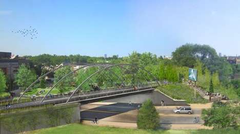 Elevated Urban Corridors - The 606 is a Railway Line Converted To an Elevated Park and Trail