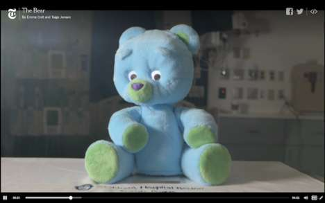 Anxiety-Alleviating Robots - 'Huggable' is a Robot Teddy That Helps Comfort Hospitalized Children