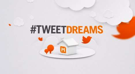 Social Mortgage Campaigns - SA Home Loans' #TweetDreams Lets Users Help to Drop Interest Rates