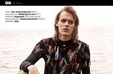Seaside Surfer Editorials - This Ton Heukels Feature Embraces Sporty Wardrobe Staples