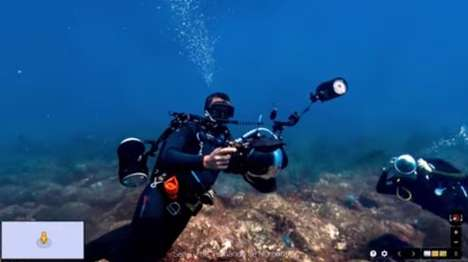 Underwater Street View Services - The Google Street View Underwater Service Marks World Ocean's Day