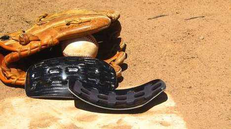 Protective Baseball Head Guards - This Head Guard Has a Carbon Fiber Plate For Extra Protection