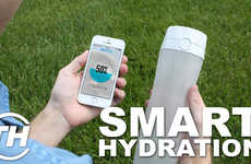 Smart Hydration Products - Jana Pijak Counts Down Her Favorite Examples of Hi-Tech Water Bottles
