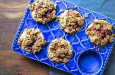 Nutty Streusel Muffins - This Peanut Butter & Jelly Streusel Muffins Recipe is Quick and Easy