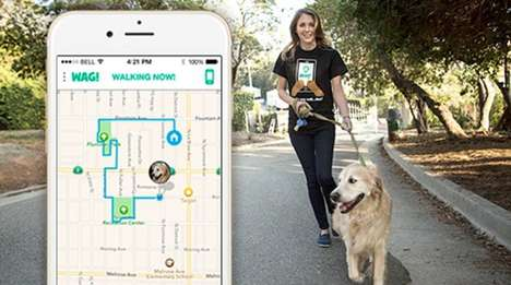 23 Pet-Centric Apps - From Social Dog Owner Apps to Simplified Pet Training Apps