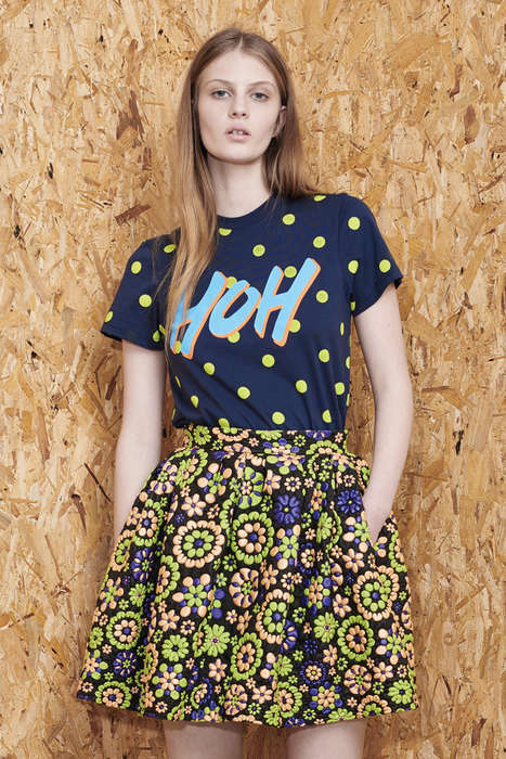 Peruvian Skater Fashion - House of Holland's Resort Collection Features South American Swagger