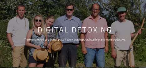 Tech-Free Team Building Events - Digital Detoxing Hosts Unplugged Retreats for Urban Professionals