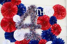 Patriotic DIY Decals - The Avanti Morocha Independence Day Backdrops Celebrate American Pride