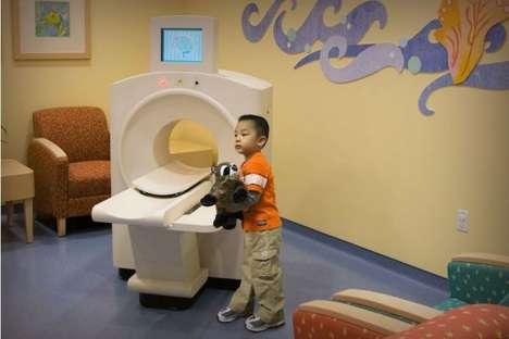 Toy CT Scanners - Creative Arts Designs Playful Machines for Hospital Waiting Rooms