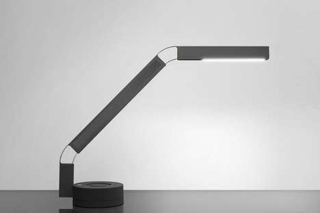 Sunset-Simulating Desk Lamps - The Fade Task Light Provides Natural Lighting Conditions for Workers