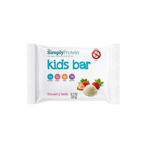 Kiddie Protein Bars - The Simply Protein Kids Bar Makes Protein for Kids Accessible & Enjoyable