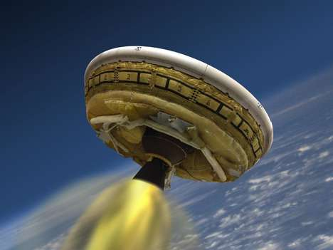 Inflatable Flying Saucers (UPDATE) - The NASA LDSD is Outfitted with Better Brakes for Safer Landing