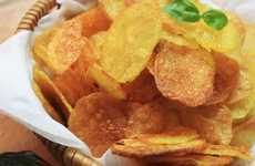 Homemade Potato Chips - This Homemade Chip Recipe is a Healthy Alternative to Store Bought