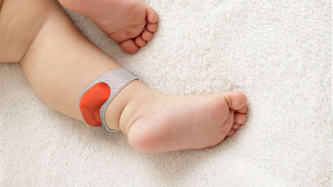 12 Examples of Wearable Baby Tech - From Smart Thermometer Patches to Health Data Pendants