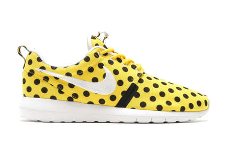 Polkadot Lifestyle Sneakers - The Nike Roshe NM QS Dot Design is a Playful Iteration