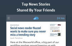 Curated News Apps - 'Nuzzel' is a New App That Shows Users What Articles Their Friends are Reading