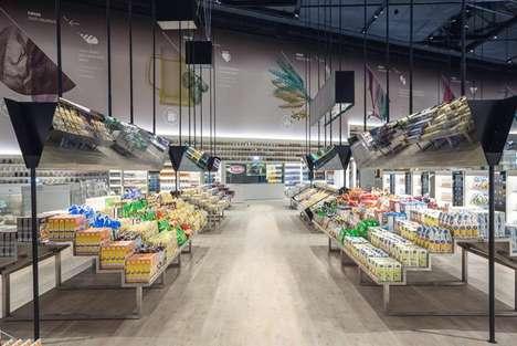 Futuristic Grocer Concepts - Carlo Ratti Associati Imagines the Future of Supermarkets as Digital